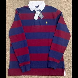 Polo long sleeve button up